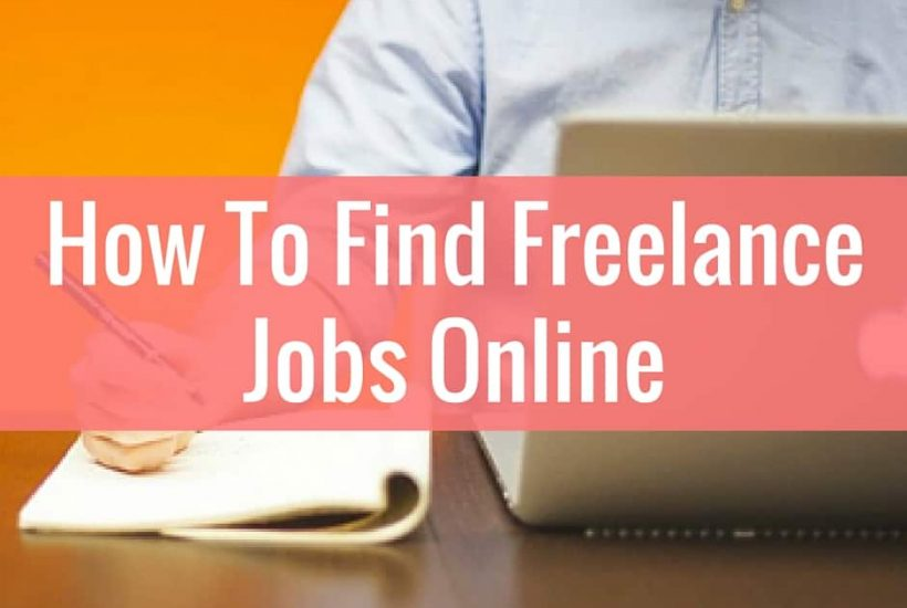 How to find freelance jobs online.