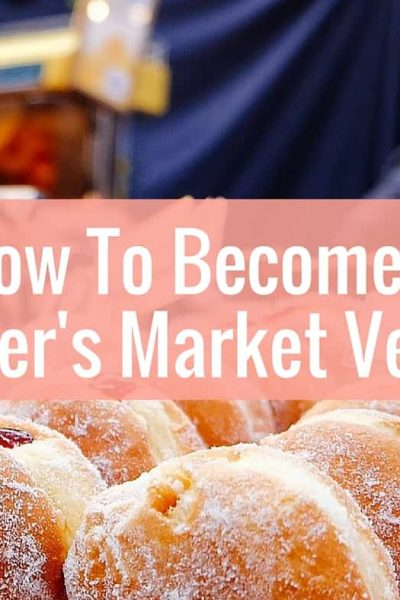 Learn how sell your good and become a vendor at the farmers markets