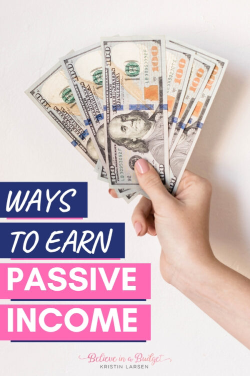 Here are 25+ ways to earn passive income each month. These passive income ideas will help you make money without needed a part time or full time job.